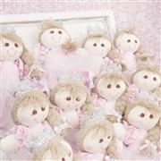 Lembrancinhas Maternidade Boneca Princesa Nina Rosa Poá