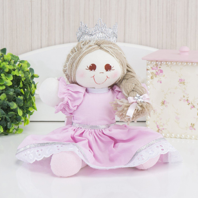 Bonequinha Princesa Cristal