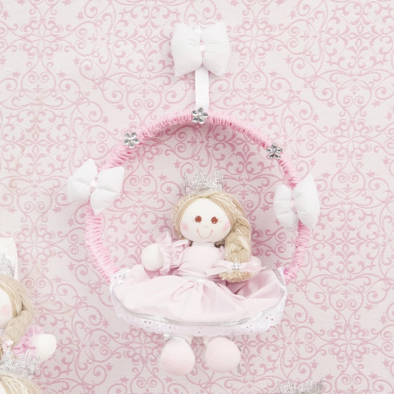 Enfeite de Porta Princesa Cristal