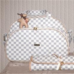 Bolsa Maternidade Paris Marfim