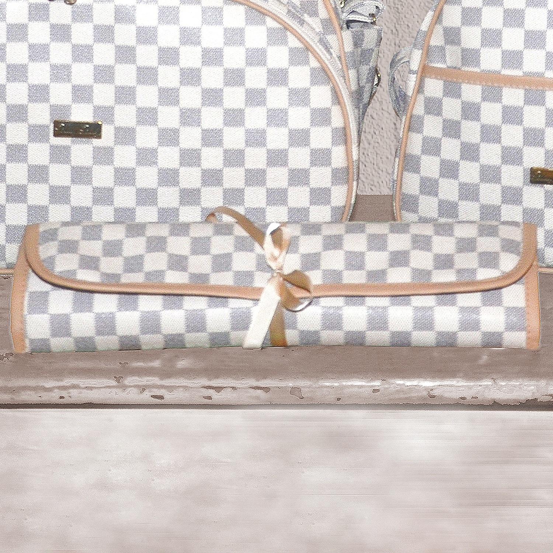 Trocador Portátil Maternidade Paris Marfim