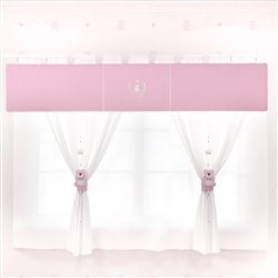 Cortina Realeza Rosa Premium