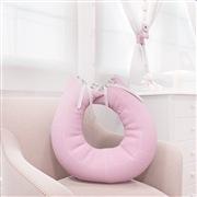 Almofada para Amamentação Realeza Rosa Premium