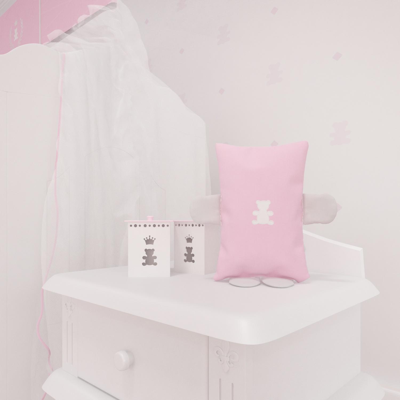 Naninha Realeza Rosa Premium