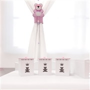 Jogo de Potes Realeza Rosa Premium