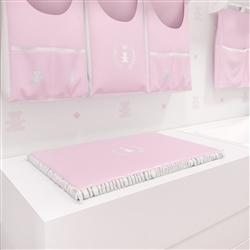 Trocador Realeza Rosa Premium