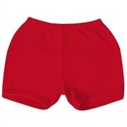 Shorts Vermelho 3 a 6 Meses