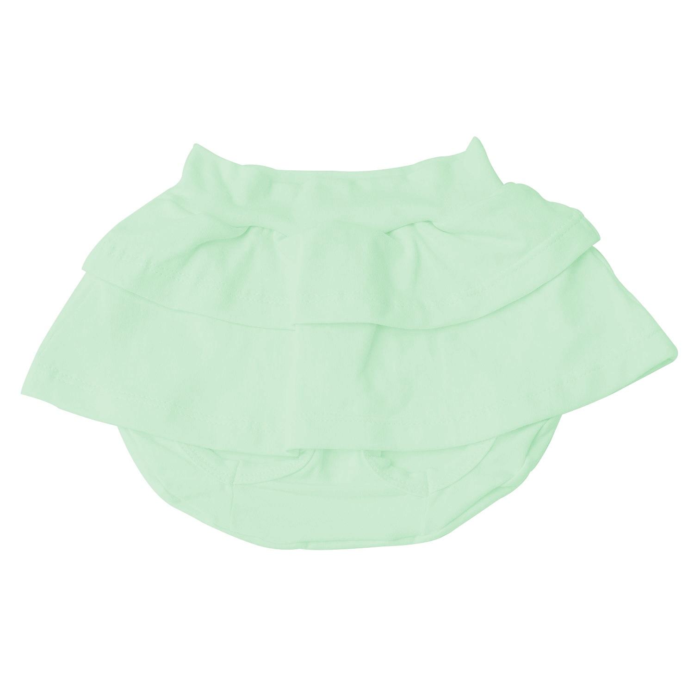 Short Saia Verde 9 a 12 Meses