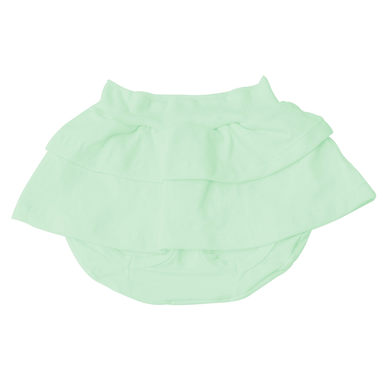 Short Saia Verde 12 a 15 Meses