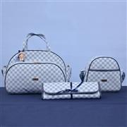 Conjunto de Bolsas Maternidade Paris Azul