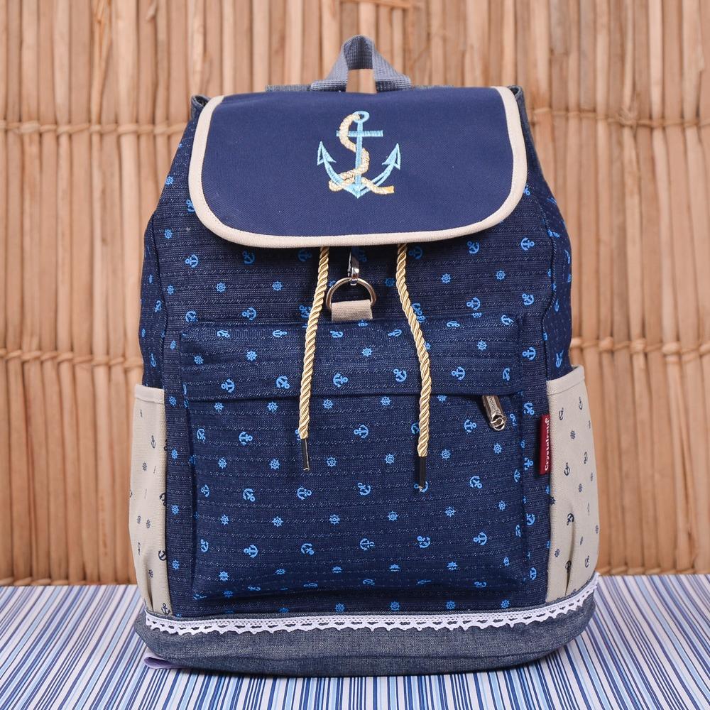 Mochila Maternidade Navy Azul