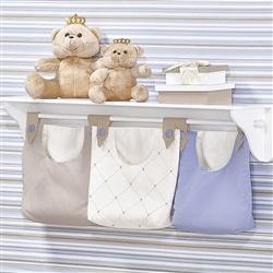 Porta Fraldas Varão Meu Amigo Urso Azul