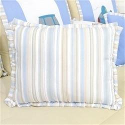 Almofada Decorativa com Listras Aventura Azul