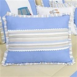Almofada Decorativa Três Repartições Aventura Azul