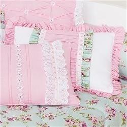 Almofada Decorativa Repartições Rosa Candy