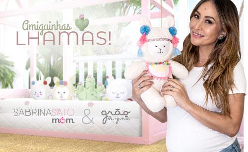 Quarto de Bebê Amiguinhas Lhamas Montessoriano