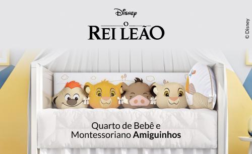 Quarto de Bebê Amiguinhos O Rei Leão