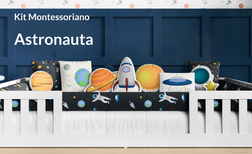 Kit Cama Montessoriano Astronauta