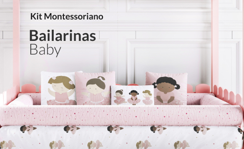 Kit Bailarinas Baby Montessoriano