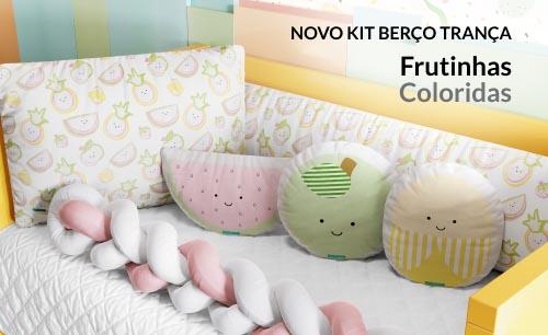 Kits Berço Frutinhas Coloridas