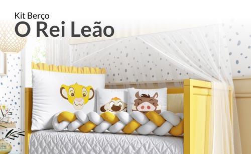 Kit Berço Trança Simba O Rei Leão