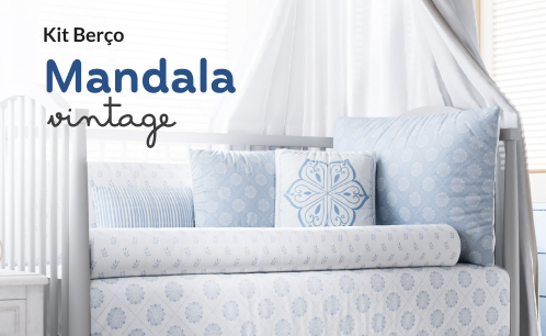 Kit Berço Mandala Vintage