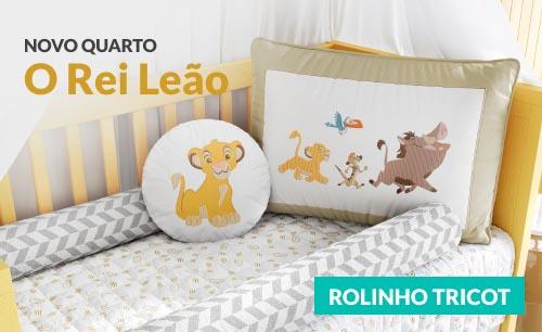 Quarto de Bebê O Rei Leão Rolinho Tricot