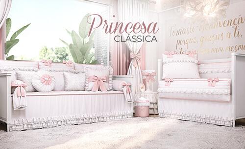 Quarto de Bebê Princesa Clássica