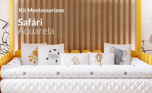 Kit Montessoriano Safári Aquarela