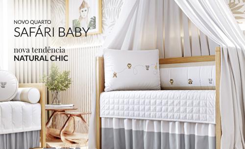 Quarto de Bebê Safári Baby