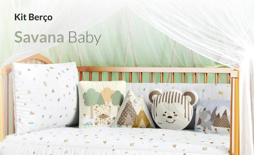 Kit Berço Savana Baby