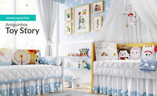 Quarto de Bebê Toy Story Amiguinhos