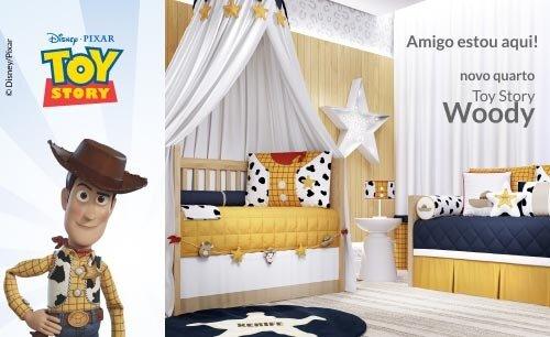 Quarto de Bebê Toy Story Woody