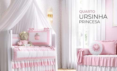 Quarto de Bebê Ursinha Princesa