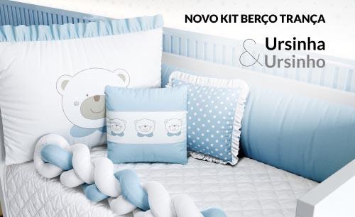 Kit Berço Ursinho Azul