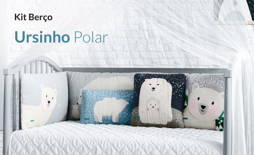 Kit Berço Ursinho Polar