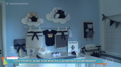 Quarto do Bernardo é destaque no Vídeo Show
