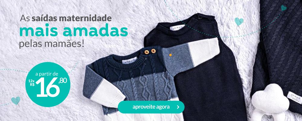 Saídas maternidade tricot