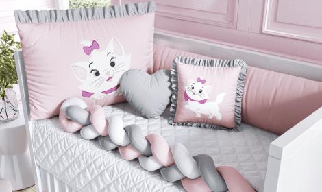 Kits Berço Disney Bordados Meninas