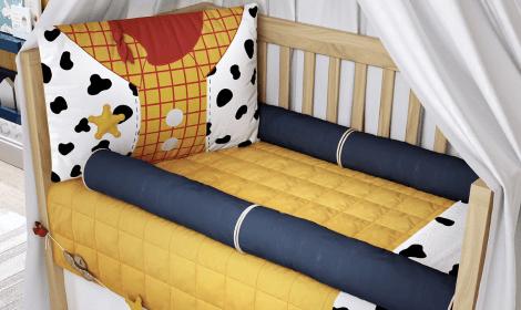 Kits Berço Disney Bordados Meninos
