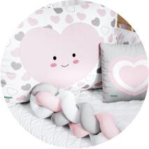 Kit berço Coração