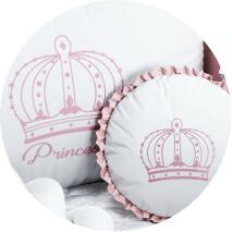 Kit berço Princesas e Príncipes