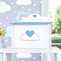 Farmacinha Coração nas Nuvens Azul