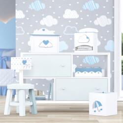 Kit Higiene Chuva de Amor Azul