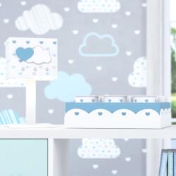 Kit Acessórios Chuva de Amor Azul