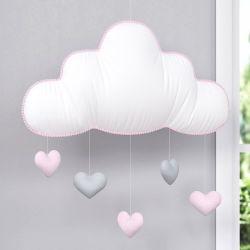 Móbile Nuvem Chuva de Amor