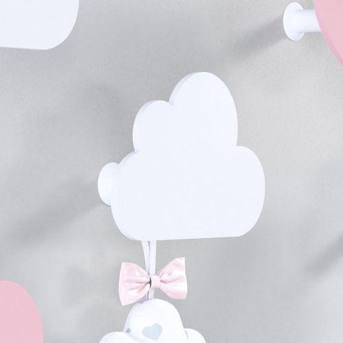 Cabideiro de Parede Nuvem