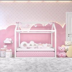 Quarto de Bebê Montessoriano Chuva de Amor