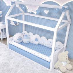 Kit Montessoriano Chuva de Amor Azul