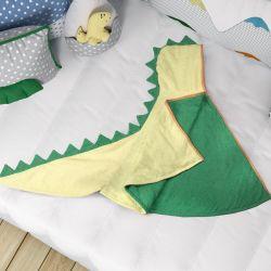 Toalha com Capuz Infantil Amiguinho Dino Lelo 90cm